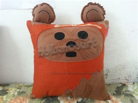 Ewok Pillow by Handmade Wars Ewok Plush Pillow By Rbitencourtusa On
