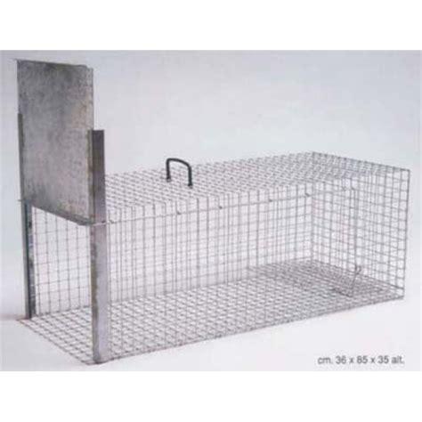 gabbia trappola gabbia per animali in metallo