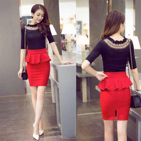 Sale Mini Dress Casual Dress Korea 50 Ribuan Dress Pesta Murah pencil skirts ruffles summer korean casual