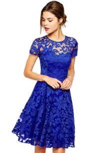 royal blue dress wholesale royal blue lace skater dress