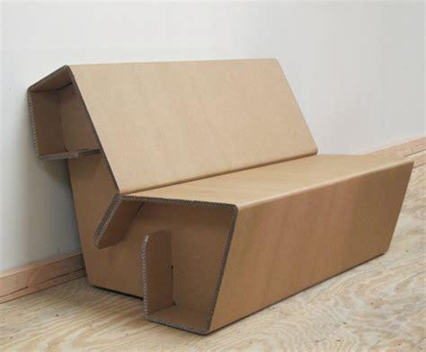 Cardboard Sofa corrugated cardboard sofa on etsy chairblog eu