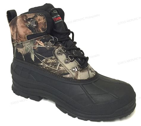 mens insulated snow boots mens winter snow boots camouflage waterproof insulated
