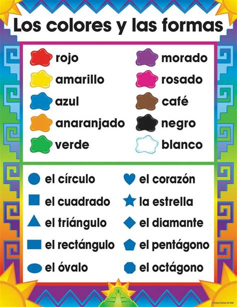 color in spanish 25 best ideas about spanish phrases on pinterest