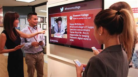 digital school digital signage for schools 4 exles of enplug in colleges
