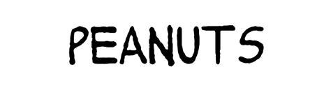 dafont valledofas peanuts font