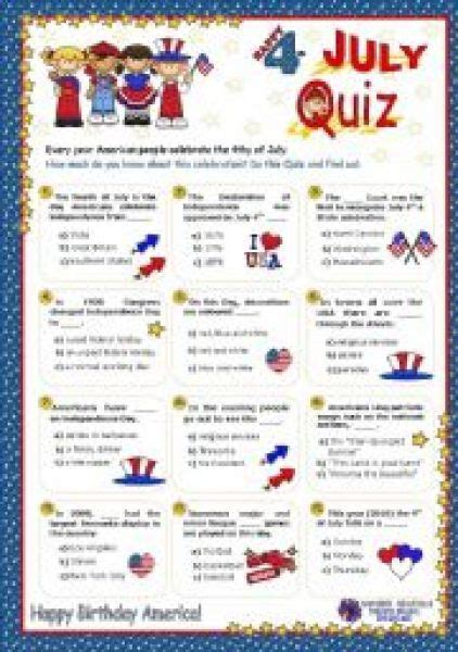4th Of July Facts by 4th Of July Trivia Questions And Answers The Waters Edge