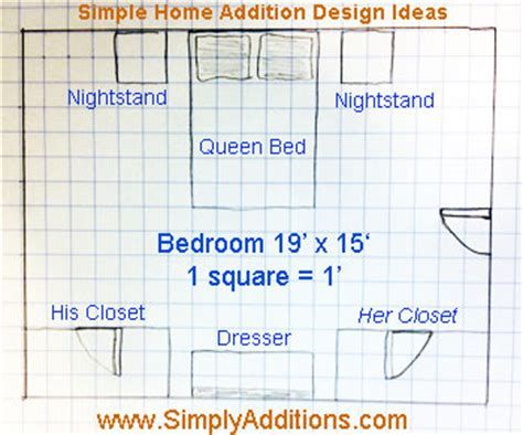 how to plan a proper master bedroom addition simply