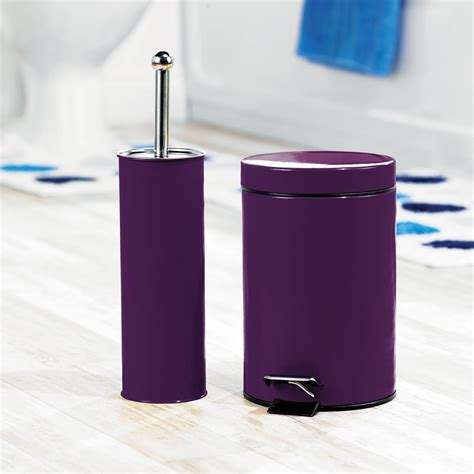 Bathroom Purple Accessories Complete Your Bathroom With Sweet Purple Bath Accessories