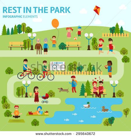 s day in the park park stock images royalty free images vectors