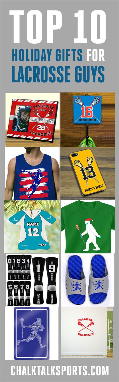 Great Gift Ideas For The Sporty by Top 10 Gifts For Lacrosse Guys Chalktalksports