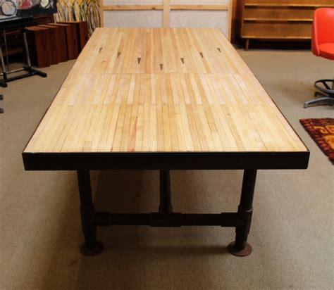 bowling dining table mid century modern furniture buy antique furniture