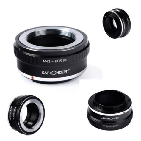 Kf Lens Adapter Lensa Canon Eos Mount To Fuji X Series Fx kf concept lens adapter m42 lens mount to canon eos m for