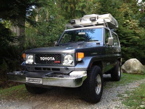 Toyota Land Cruiser Factory Buy Used 1987 Toyota Land Cruiser Bj74 4x4 Factory Turbo