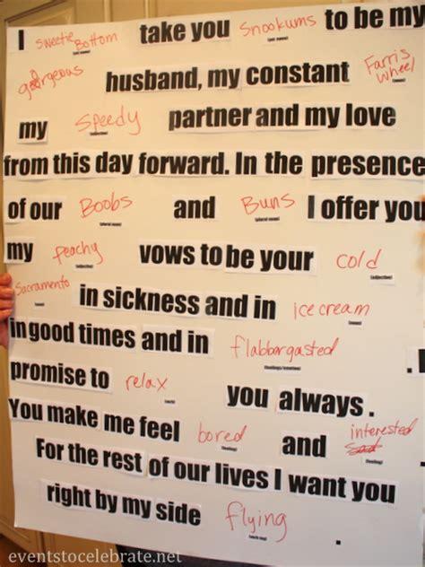 Brides Wedding Vow Sle by Disney Wedding Vows Wedding Ideas 2018
