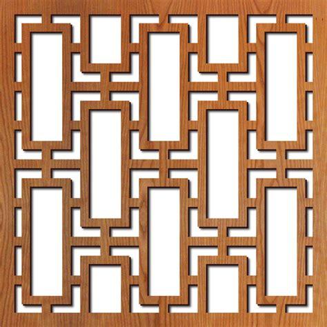 square pattern vinyl lattice rectangular lattice laser cut pattern lightwave laser