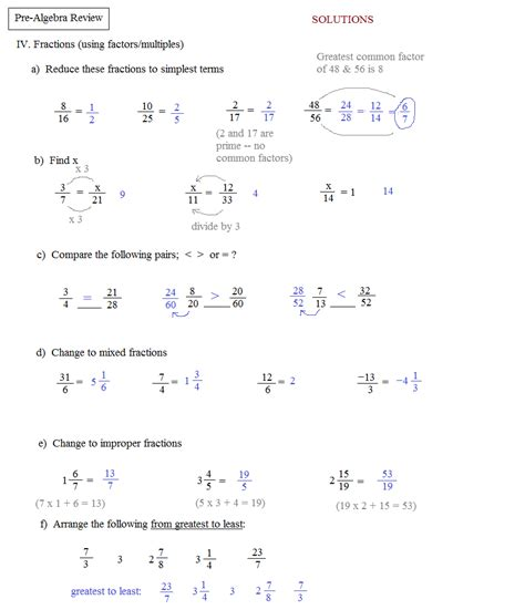 Mba Math Pre Quiz by Algebra Pictures To Pin On Thepinsta