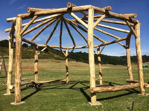 gazebo ottagonale strutture in legno vivaio e stefanelli todi