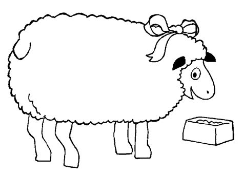 preschool coloring page sheep the lost sheep coloring pages az coloring pages
