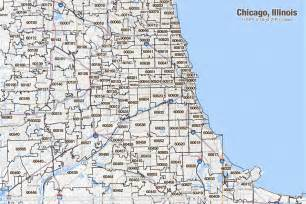 Chicago Metro Area Map by Chicago Illinois Zip Code Map Pictures To Pin On Pinterest