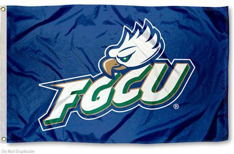 fgcu colors florida gulf coast eagles fgcu flag 3x5 banner
