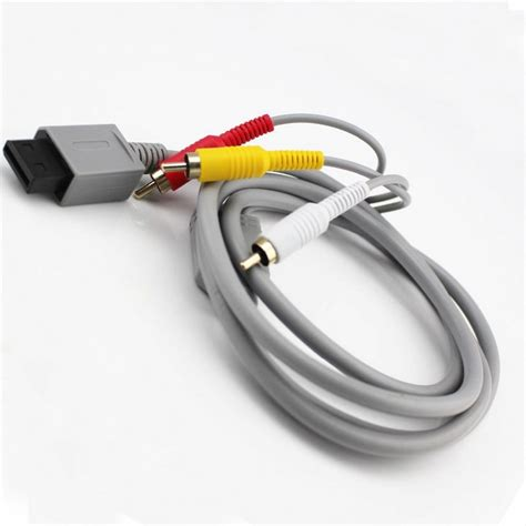 Wii Av Cable By Onejersey av cable wii wii u pccomponentes
