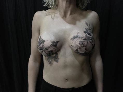 nipple tattoo for scars tattooists help breast cancer survivors transform scars