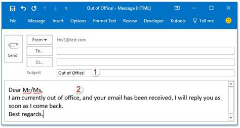 Standard Out Of Office Reply by Outlook 2010 Out Of Office Not Working For One User