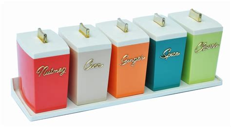 kitchen canisters australia capri spice canisters designed by paul schremmer 1960s z