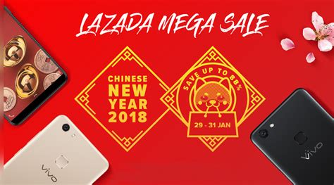 Celebrate Vivo With Rm200 Lazada Voucher In This Cny Mega