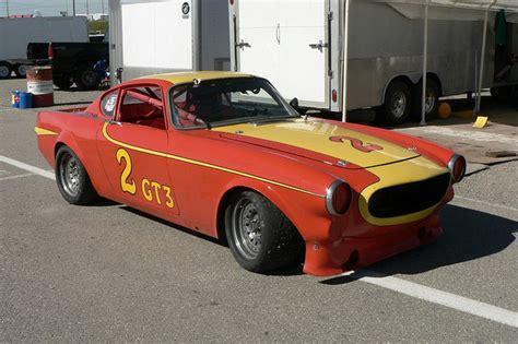 volvo p1800 race car volvo p1800 race car vintage on the prairies race