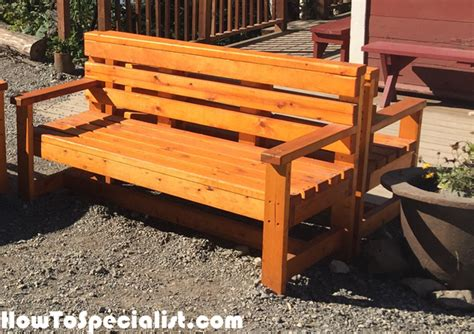 build outdoor bench with back diy outdoor bench with back diy outdoor bench howtospecialist how to build step