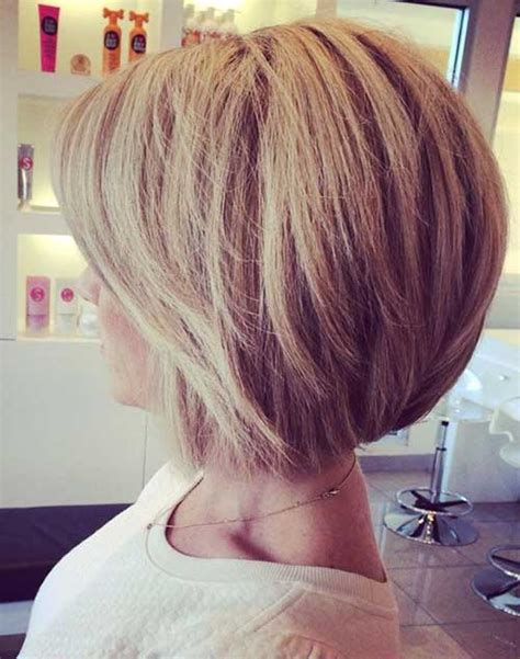 hairstyles blunt stacked bob haircuts back view the best short hairstyles for