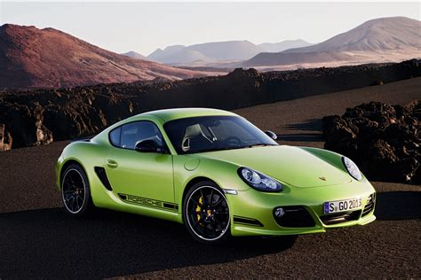 Porsche Cayman R Green Hd Hd Desktop Wallpapers 4k Hd