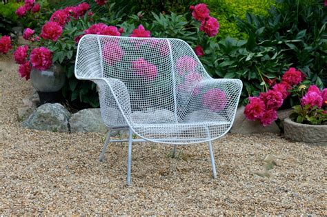 Wire Patio Chairs Vintage Wire Patio Chair Mid Century Decor