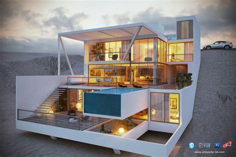 studio casa 3 proyecta 3d studio casa de playa