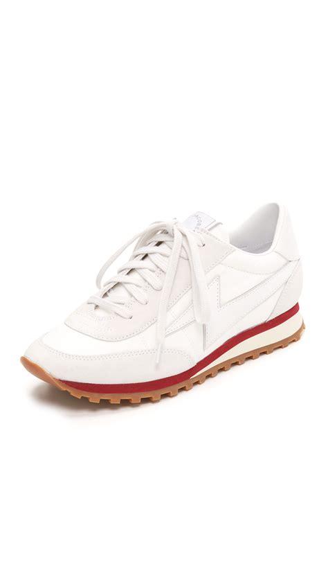 marc jacob sneakers marc astor lightning bolt sneakers in white lyst