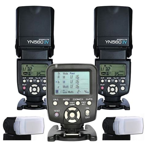 Speedlite Profesional Yongnuo Yn 560 Iv 2pcs yongnuo yn 560 iv master radio flash speedlite 1pcs yn560 tx wireless flash controller for