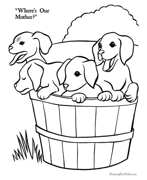 puppies coloring pages pdf printable pictures of puppies coloring pages for kids