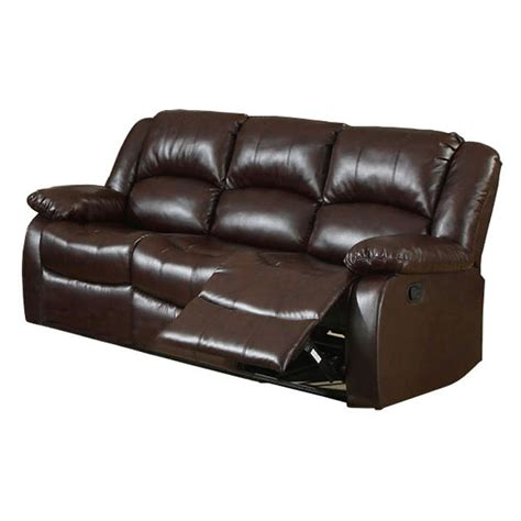 sears leather recliners venetian worldwide cm6556 s winslow bonded leather