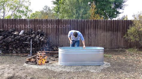 home made bathtub homemade modern ep112 diy wood fired hot tub