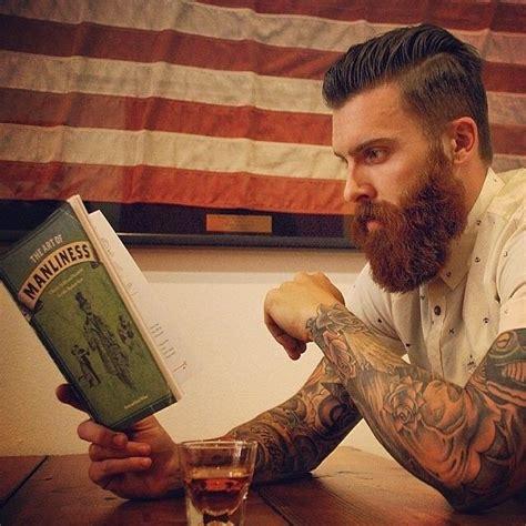 red beard tattoo levi stocke thick beard and mustache beards