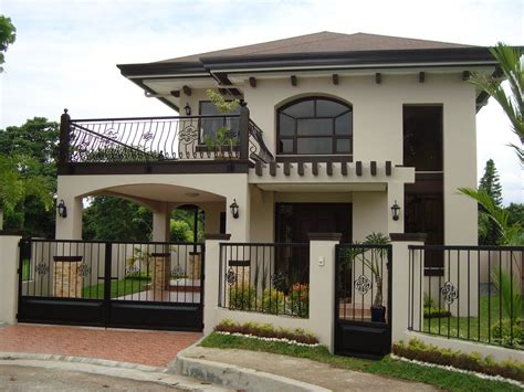 2 storey house design philippines residential 2 storey