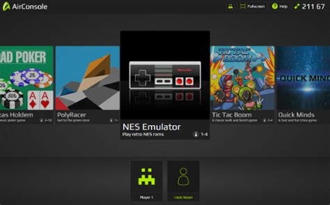 airconsole lets you play browser based games and classic