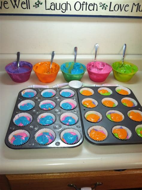 neon food coloring easy cupcakes neon food coloring and white