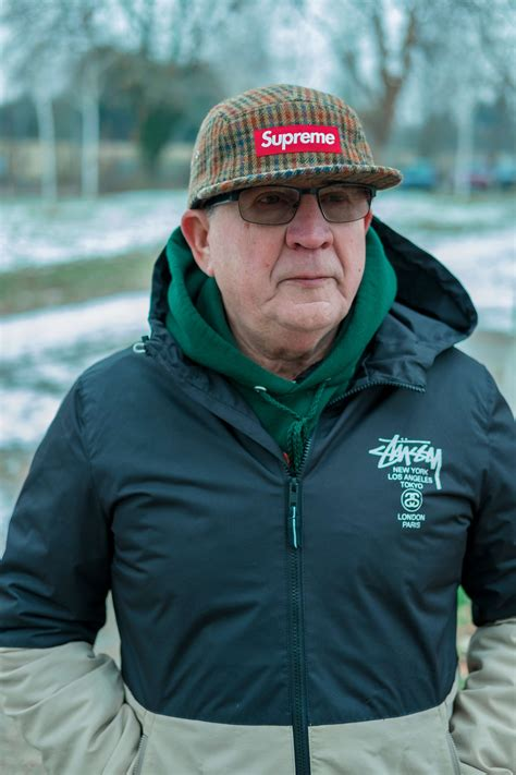 supreme streetwear meet the 71 year who rocks supreme harder than