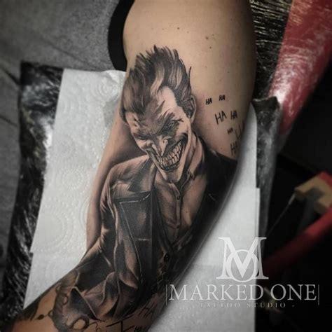 black and grey joker tattoo 132 best adam thomas images on pinterest