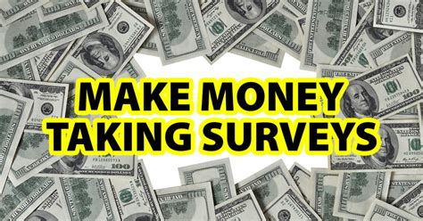 Make Money Online With Surveys - make money by taking online surveys cyprian francis