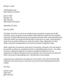 Bad Resignation Letters by Sle Rude Resignation Letter 5 Exles In Pdf