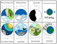 creation story for kids book free bible story minibooks