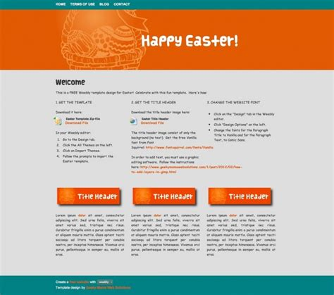 free website templates for articles huge roundup of easter 2012 resources tutorials